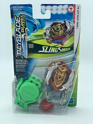 "🔥NEW! Hasbro BEYBLADE: Burst Turbo ""SLING SHOCK"" TURBO ACHILLES A4 Starter NEW!"
