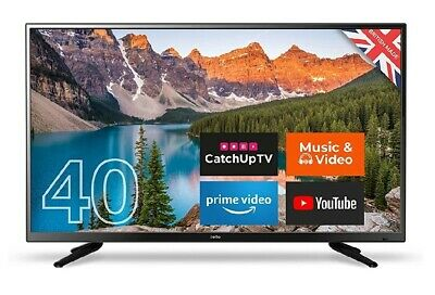 Cello C40SFS 40-Inch Android 7.0 Smart Full HD LED TV Made in the UK Black