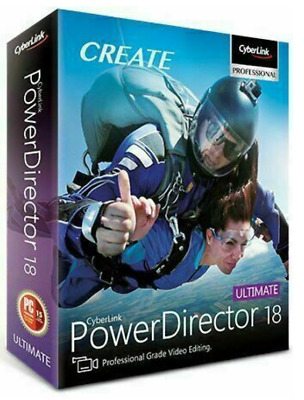 CyberLink PowerDirector Ultimate 18 🔥 Genuine Lifetime License | 30s DELIVERY