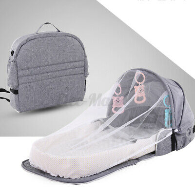 Foldable Baby Infant Mosquito Nets Tent Portable Mattress Bed Cover Travel