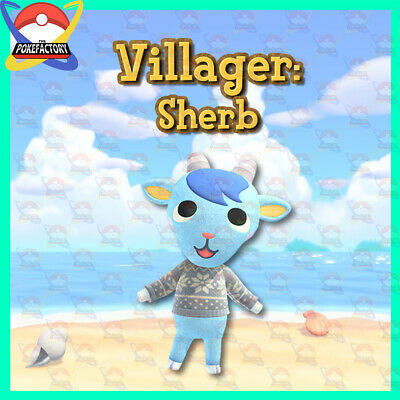 Animal Crossing New Horizons🏠: Villager Hunting Service - Sherb 🙀
