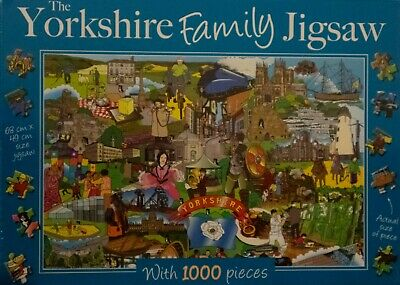The Yorkshire Family Jigsaw - 1000 Pieces