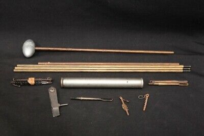 WWI 1903 M1916 Clean Rod & Parts, Multi Tool, Buttstock Tube Kit & Pull Thrus