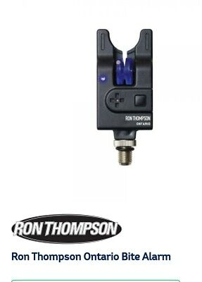 ** New ** Ron Thompson Blaster VT Single Black Alarm Supplied With Battery