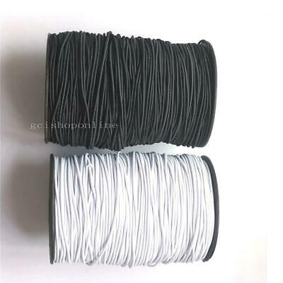 2mm Round Elastic Cord for Face Stretch Rope Strip DIY Clothing Sewing bead LOOP