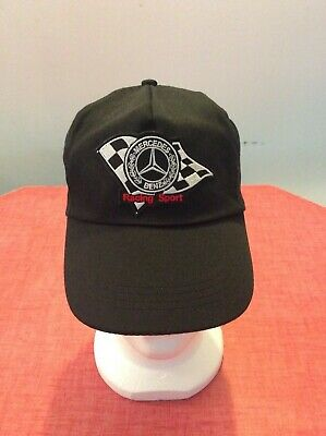 Ca-A083 Casquette Mercedes Racing / Neuf / Taille Unique Adulte