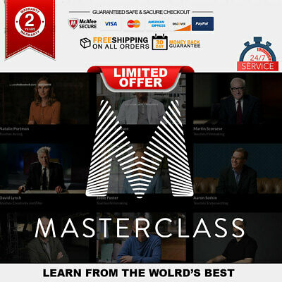 Masterclass All Access Premuim FULL 3 years WARRANTY SUPPORT 24/7 Fast Delivery