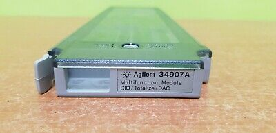 Agilent 34907A, Multifunction Module for 34970A/34972A