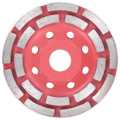 vidaXL Diamond Grinding Cup Wheel with Double Row Disc Edge Surface Smoother