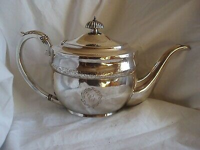 Scottish Tea Pot Antique Sterling Silver Edinburgh 1828