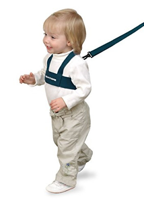 Toddler Leash & Harness for Child Safety -Keep Kids & Babies Close -Padded Blue