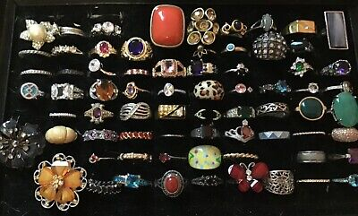 Estate Vintage-Now Jewelry Lot-5 Rings 💍💍💍💍💍