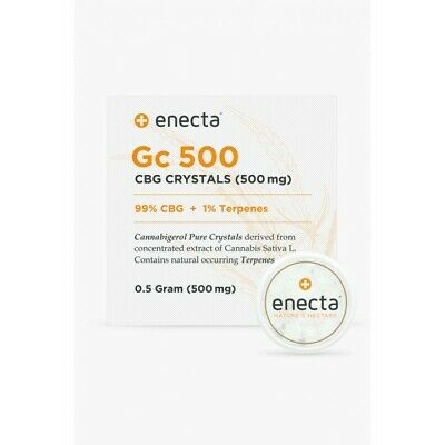 Enecta Chanvre CBG Pure Extract 99% 1% Terpènes 500mg sur greenhealth-shop.com