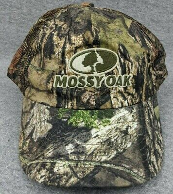 Mossy Oak Obession Explorer 6 Panel Cap Hunting Trucker Hat 1001 One Size