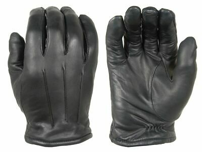 Damascus DLD40 Pulse Thinsulate Lined Leather Dress Gloves, Small, Black DLD40SM