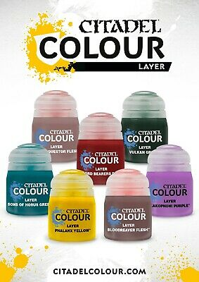 Citadel Layer Paint - Savings on multi buys by combining postage