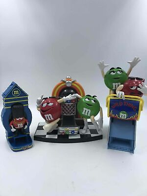 3ct Collectors M&M Candy Dispensers