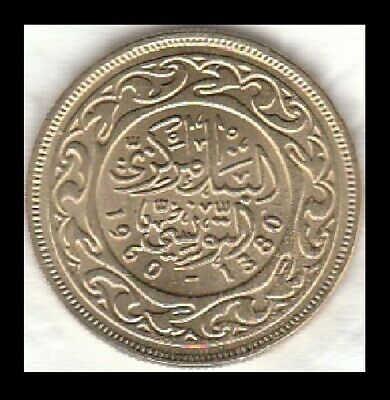 Tunisia 1960 High Grade 20 Millim Coin km307 - See Scans and Judge 4 Yourself