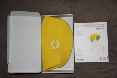 Brand New Bugaboo Bee3 Sun Canopy Hood Extendable Yellow Also Fits Bee Plus Bee5