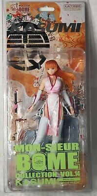 Kaiyodo DEAD OR ALIVE KASUMI WHITE ver. Figure from JAPAN
