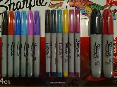 Sharpie Markers 14 Ct Special Edition MULTI COLOR ULTRA, FINE and CHISEL POINT