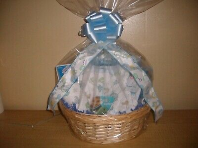 Bouncing Baby Boy Baby Shower Gift Basket or Centerpiece