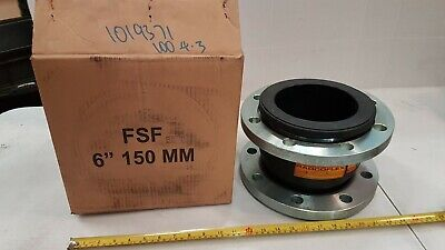 RadcoFlex FSF 150mm 6-inch Flexible Expansion Joint for Chemical Services Unused