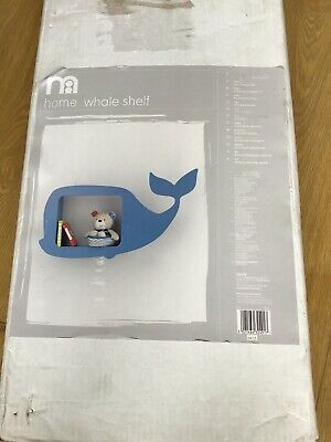 Mothercare Whale Bay Whale Shaped Shelf 🐳 New 🐳
