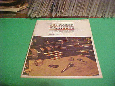 1969-70? Sweets Equipment Catalog Booklet Scovill Schrader Cyclinders