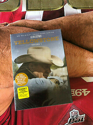Yellowstone: Season One 1 (DVD, 2018, 3-Disc Set)