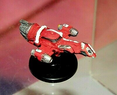 """FIREFLY SERENITY FIREFLY-class TRANSPORT 2"""" MINIATURE #1 (RESIN, PAINTED)"""