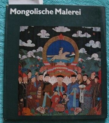 Book Album MNR Graphic Mongolia View Art Painting Propaganda Placard Poster Old
