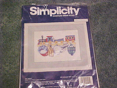 NOS NEW SIMPLICITY countless cross stitch kit #05505 - Hat Depot 12 BY 9