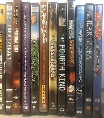 🔥Pick Your Movie DVD Movies Lot Sale $1.99/each 🔥Fast Shipping
