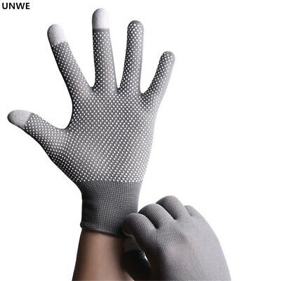 Breathable Anti-skid GEL Touch Screen Gloves Summer Thin Riding/Driving Gloves