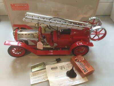 Mamod FE1, boxed, instructions, unfired, Live Steam Fire Engine