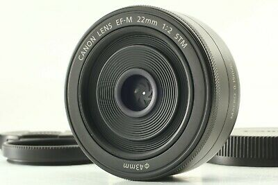 [  Near Mint  ]  Canon   EF-M  22mm  f/2  STM  Lens  from Japan