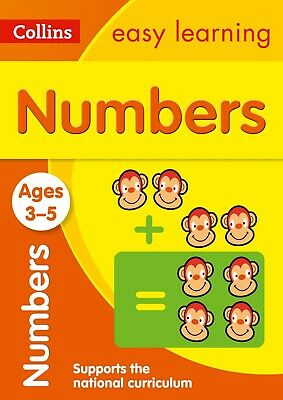 Numbers Ages 3-5: Ideal for Home Learning Children's Education Numeracy Maths