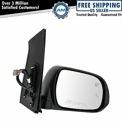 exactafit 8211SR Passenger Right Side Signal Mirror Replacement Glass Fits 2005-2007 Toyota Sienna by Rugged TUFF