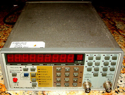 Racal-Dana 1991 Nanosecond Universal Counter Great Working Condition