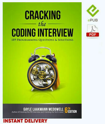 🎁Cracking the_Coding-Interview by Gayle🎁🔥Best Seller🔥🎁(E-B00K)🎁epub, pdf🔥