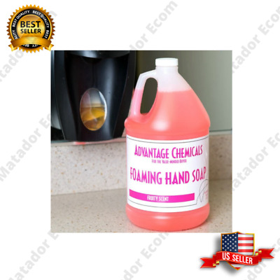 4/Case Advantage Chemicals 1 Gallon Foaming Hand Soap For Foam Dispenser