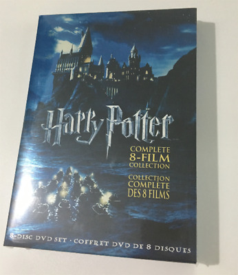 Harry Potter : Complete 8-Film Collection (DVD, 8-Disc Set) Collector's Edition