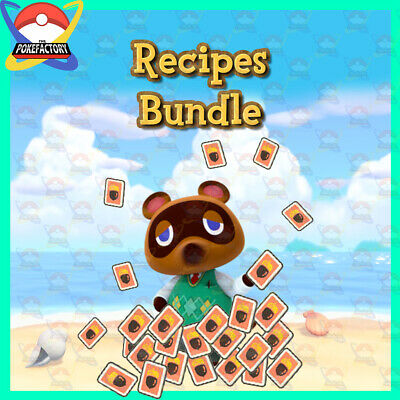 Animal Crossing New Horizons🏠: DIY Recipes Creation Service - Pick yours 🙀