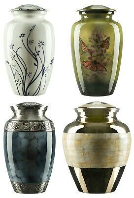 Urns for Ashes Adult Large Cremation Funeral Human Remains Memorial Screw Lid