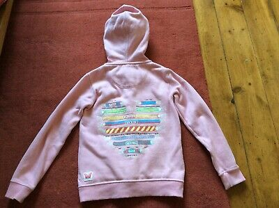 Girls Fat Face Full Zip Hoodie 8-9 Years VGC Hardly Worn