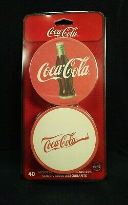 Vintage COCA-COLA Dispensable Can-of-Coasters Refill