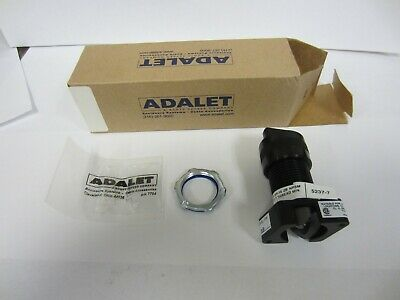 Adalet - XHSSS  CAM #1 Explosion Proof Selector Switch, Black Knob