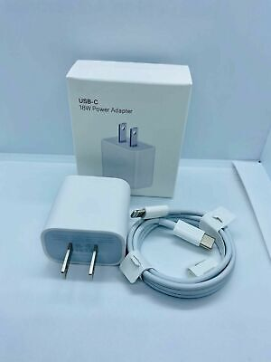IPHONE 11 FAST Charger 18W Apple Certified USB C to