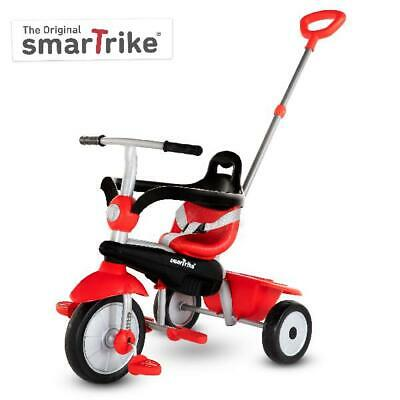 smarTrike Breeze, 3-in-1 Toddler Tricycle 15M+ - Red